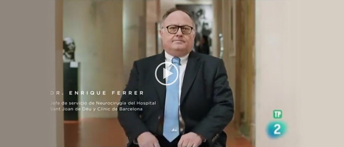 TVE 2. El doctor Ferrer no habla de la prevención y el diagnóstico de las lesiones traumatológicas
